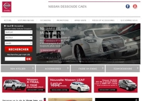 Nissan Caen Creation site internet