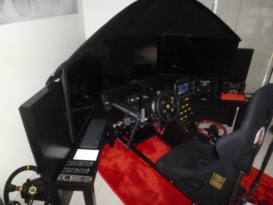 Cockpit simracing métal