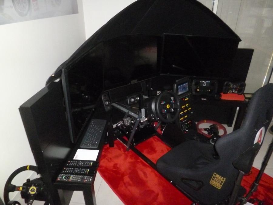 Cockpit simracing métal