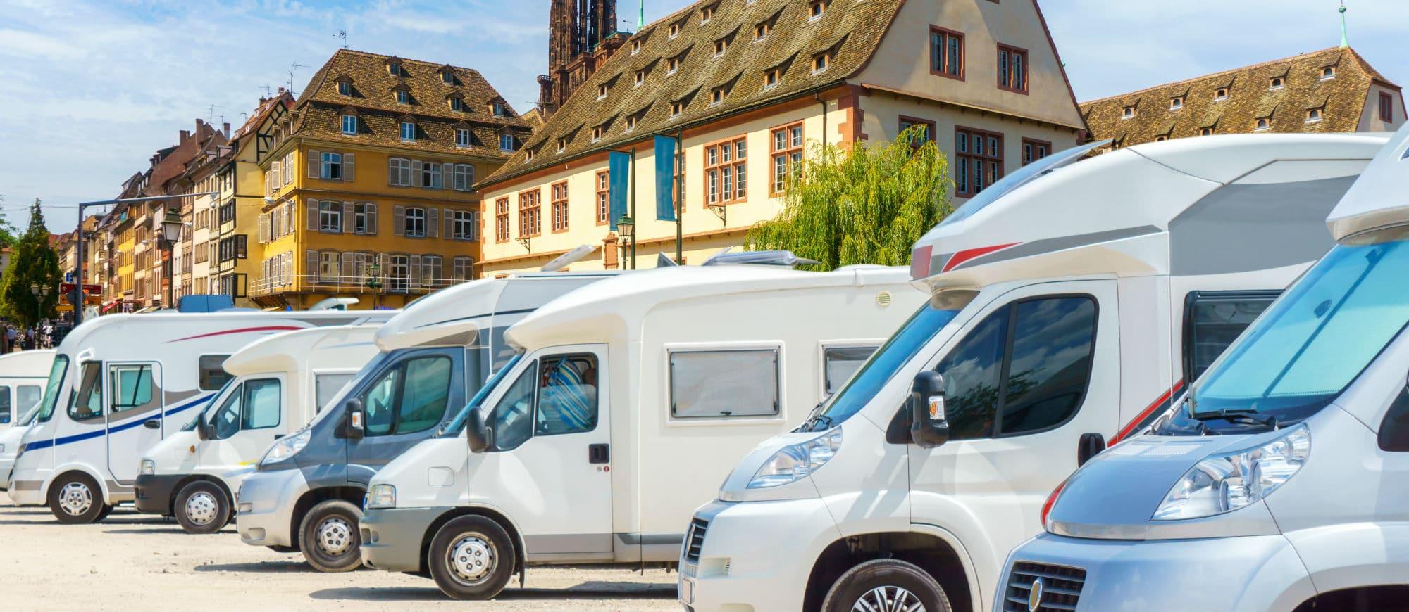 Place de stationnement camping car Strasbourg