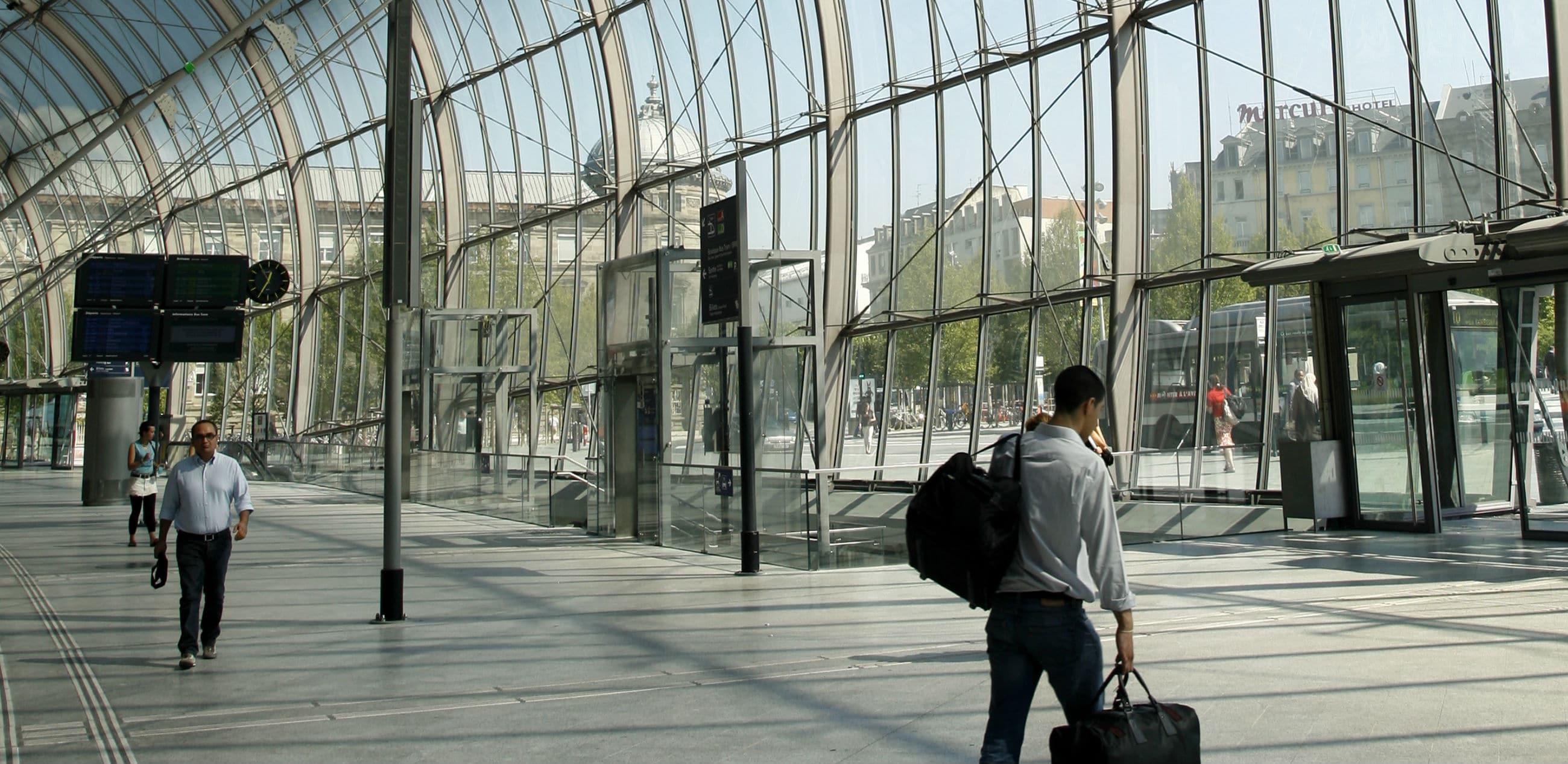 Se garer à proximité de la gare de Strasbourg