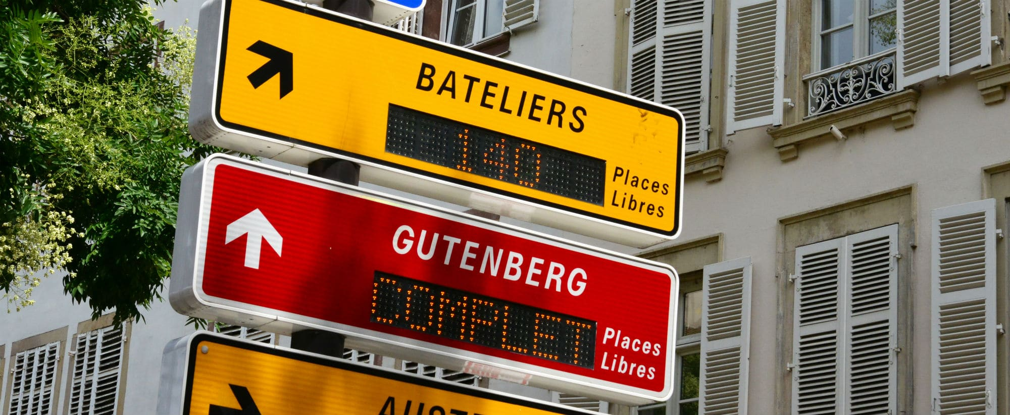 Parkings Strasbourg