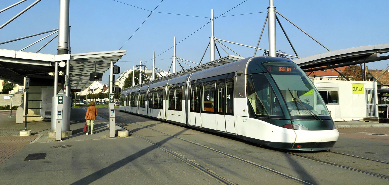 Parking tram-relais CTS Strasbourg