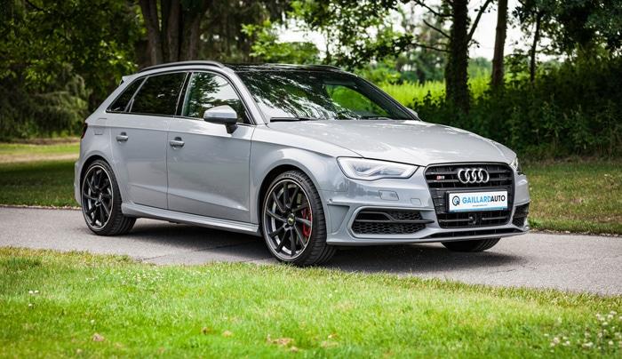 Une Audi d'occasion d'Allemagne importée par Gaillard Auto