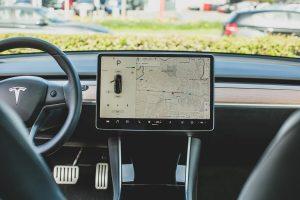 Exemple d'un GPS de voiture.